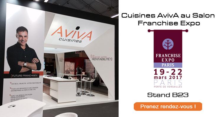 Rendez vous sur le salon du franchis franchise cuisines for Salon franchise 2017