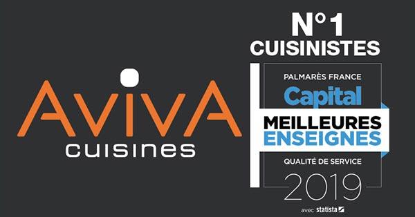 Aviva Elue Meilleure Enseigne Cuisiniste 2019 Franchise Cuisines