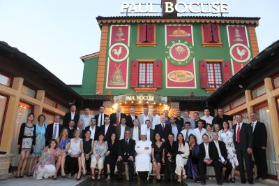 Convention Cuisine AvivA chez Paul Bocuse
