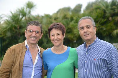 Bernard, Sophie et Georges Abbou
