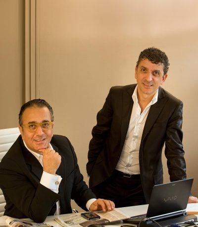Georges et Bernard Abbou
