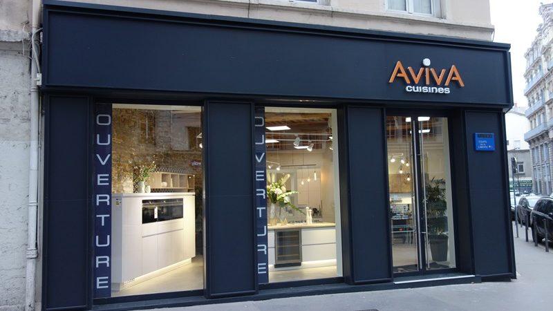 aviva inside le concept centre ville franchise cuisines aviva. Black Bedroom Furniture Sets. Home Design Ideas